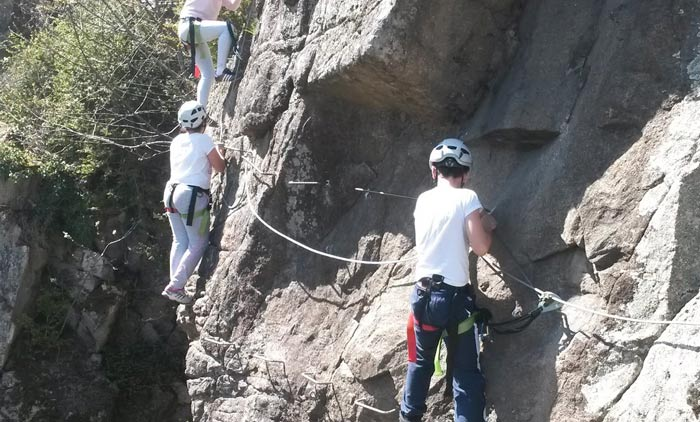 Via Ferrata et stage