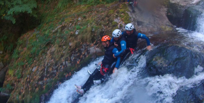 Canyoning en Auvergne
